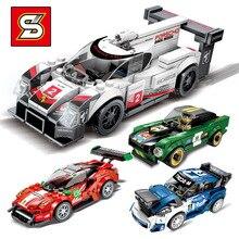 Legoingly техника город супер гонщиков Скорость чемпионов 2019 суперкар гоночный автомобиль модели строительных блоков Кирпичи детей игрушечные наборы D28