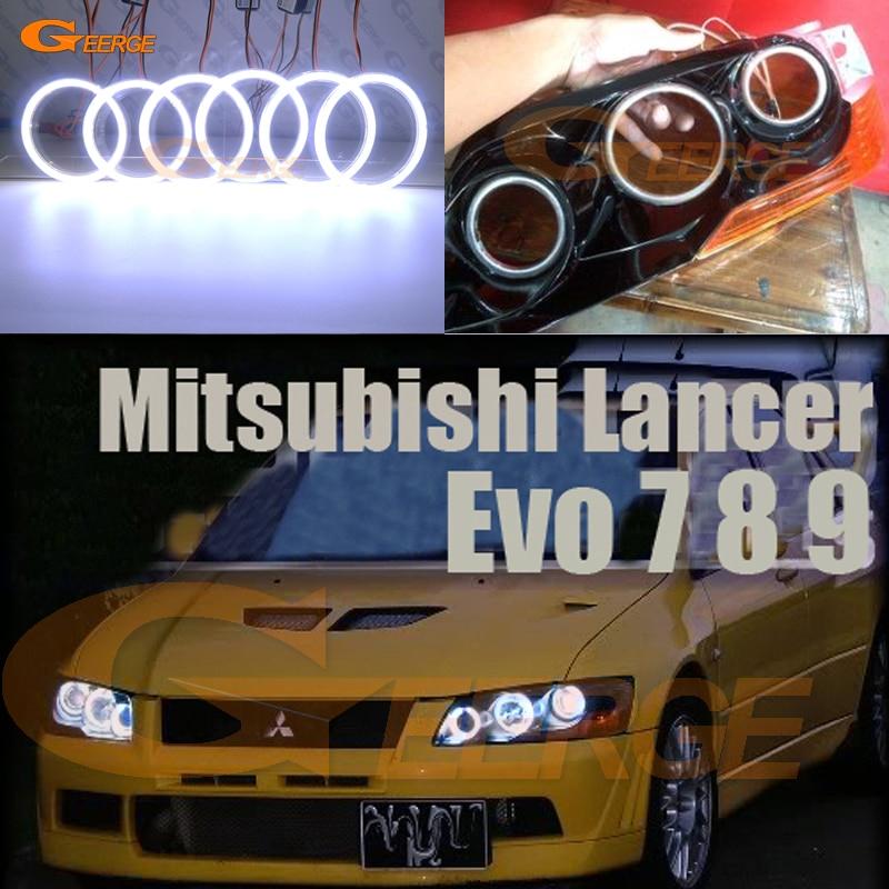 for mitsubishi lancer evo 7 8 9 2002 2007 excellent ultra bright