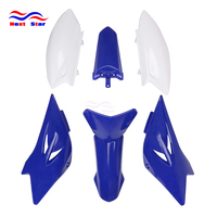 Motorcycle ABS Plastic Cover Fairings Kit Front Rear Fender & Tank Shrouds & Side Number Plates For YAMAHA TTR50 TTR 50