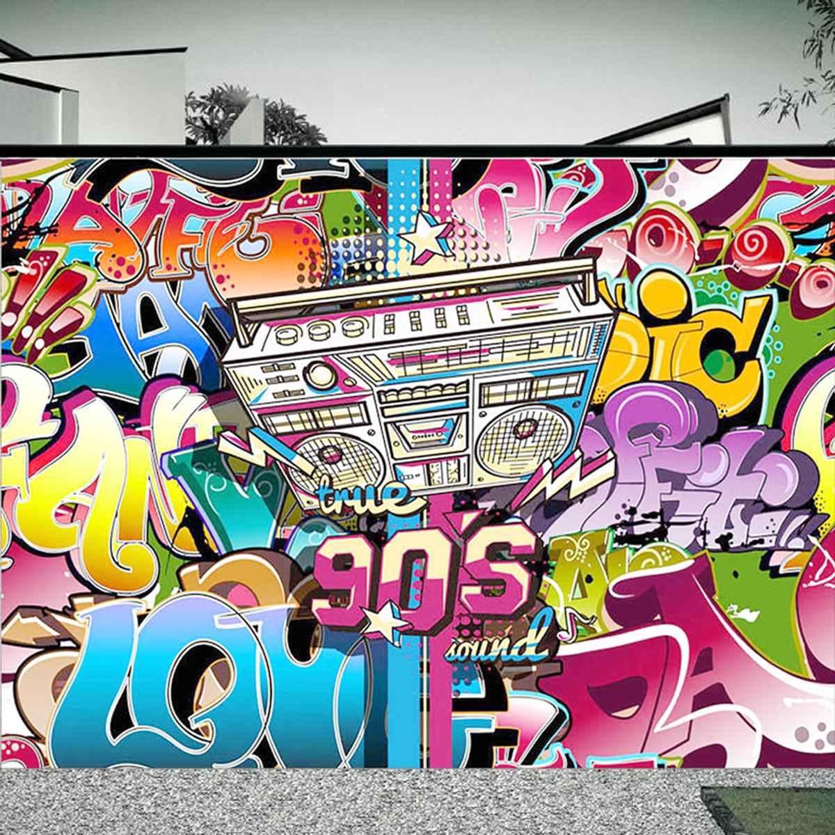 Freya 210x150cm Photographic Background 90s Hip Hop Backdrop Party