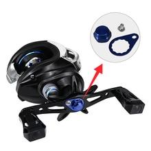 купить Fishing Reel Left Right Hand Crank With Locking Plate Screw Nut Cap Bearing Fishing Reel Accessory дешево