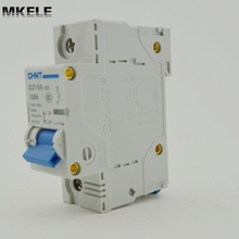 hot sell chint circuit breaker DZ158-125 1P 125A(R)