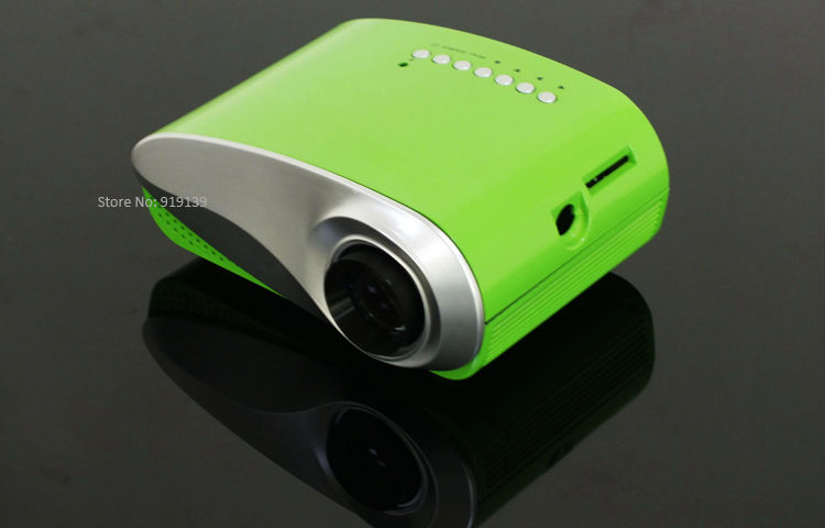 mini projector green pic 2