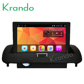 Krando Android 8.1 8full touch car multimedia player for Volvo C40 S40 S60 C30 C70 V50 2008-2012 radio stereo navigtaion GPS image