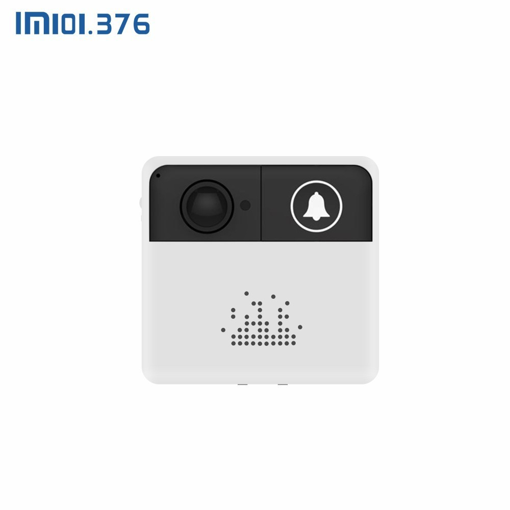 LM101.376 WIFI Smart Video Doorbell 720HD Two Way Voice Intercom Iphone IOS Android APP Control Support Setting Break Time