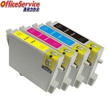 Cartuchos de Tinta compatíveis T0461 T0472 T0473 T0474 Para Epson Stylus C63 C65 C83 C85 CX3500 CX4500 CX6300 CX6500 impressora