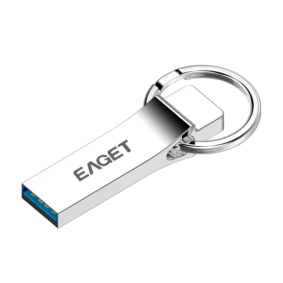 Eaget U90 Usb 3.0 Usb Flash Drives Pen Drive Fashion Mini Metal Waterproof Usb3.0