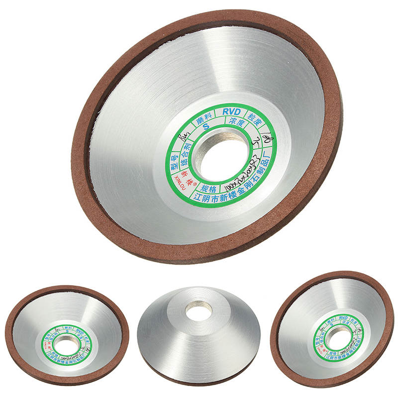 DWZ 100mm Diamond Grinding Cup Wheel 180 Grit Cutter For Metal Carbide Tool