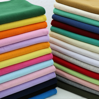2018 Rushed Tissus Pure Cotton Knitting Thread Fabrics Summer Shirt Thin Clothes Convergent 1 * Neckline Cuffs Trousers Head