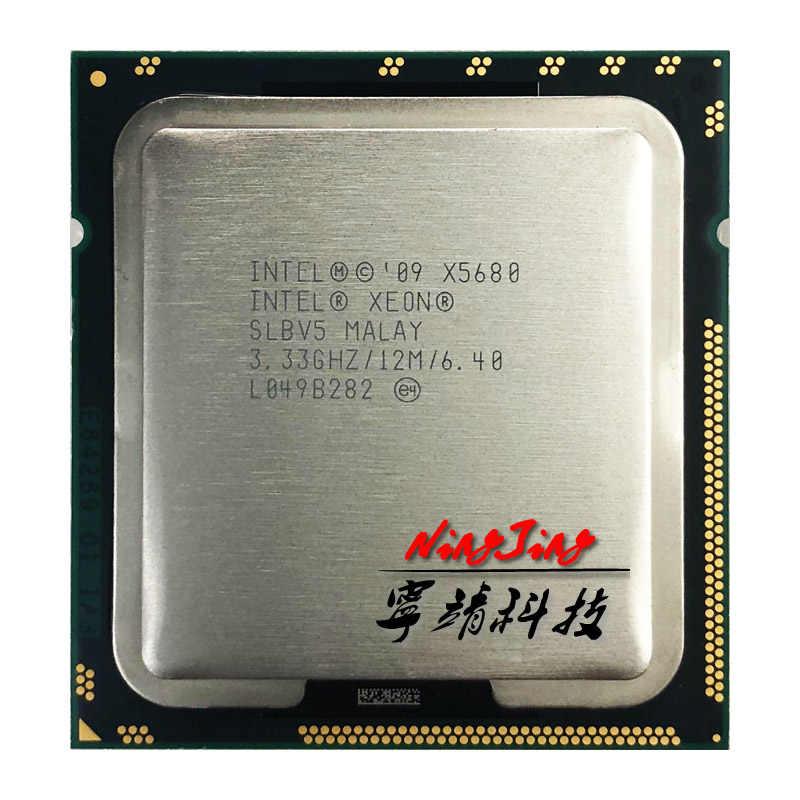 Intel Xeon X5680 3.3 GHz Enam Inti Dua Belas-Thread Prosesor CPU 12 M 130 W LGA 1366