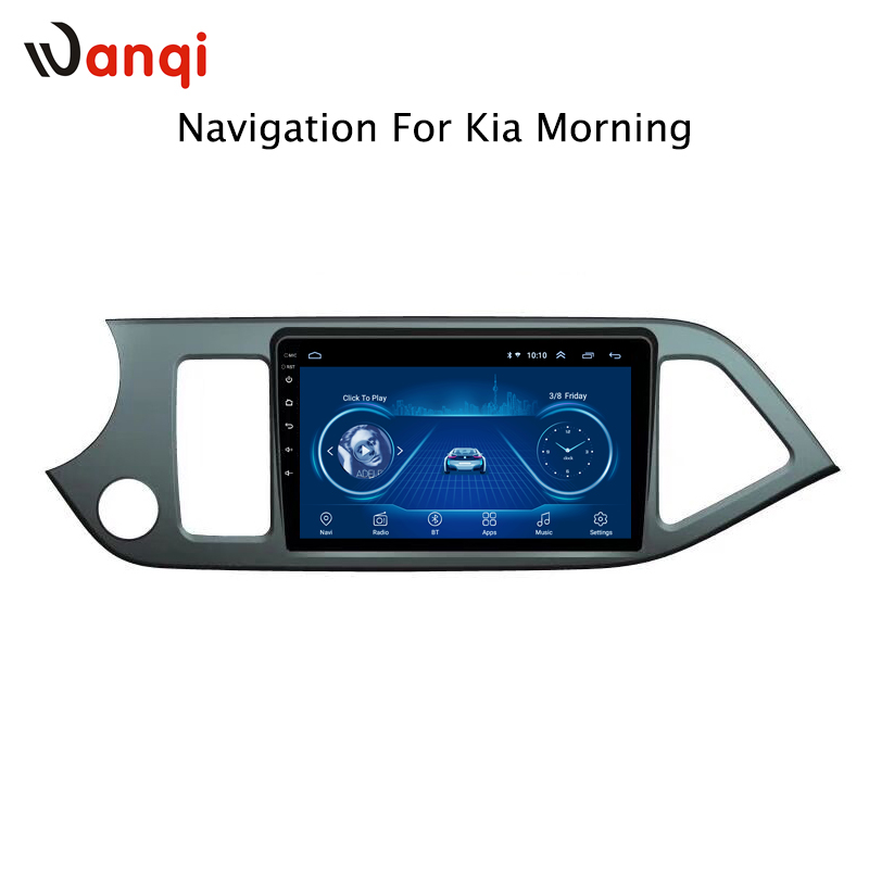 9 inch factory android 8.1 car dvd player For KIA morning picanto 2011-2015 with audio radio multimedia gps navigation system9 inch factory android 8.1 car dvd player For KIA morning picanto 2011-2015 with audio radio multimedia gps navigation system