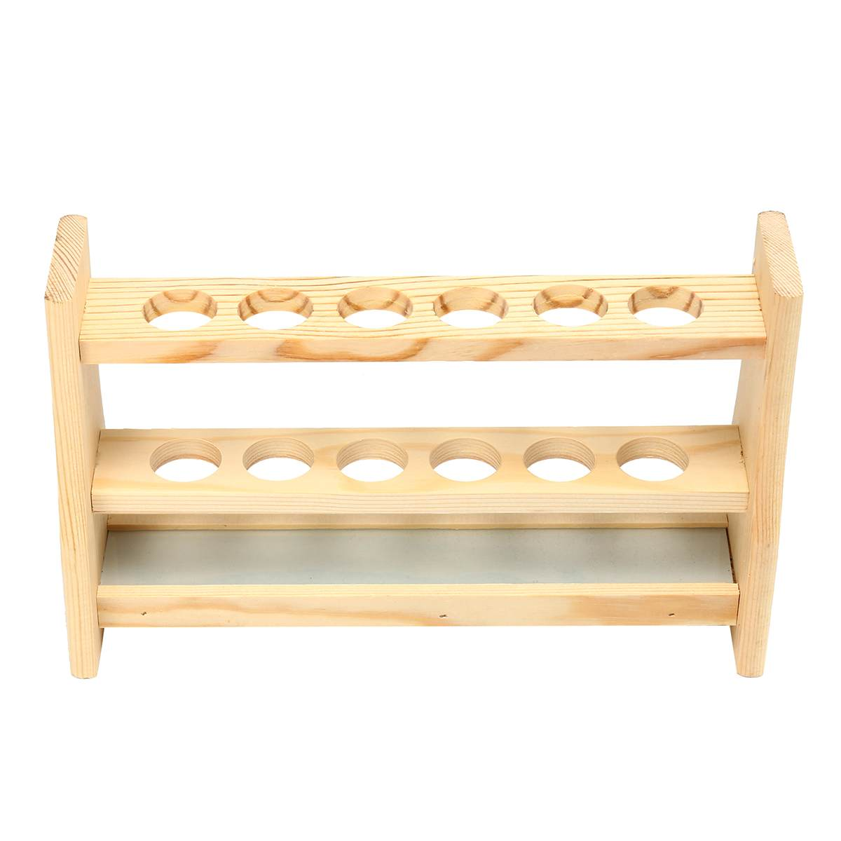 Wooden Colorimetric Test Tube Rack 6 Hole Thick Wood Wooden Tube Rack Laboratory Exports Manufacturers Hole diameter 25mmWooden Colorimetric Test Tube Rack 6 Hole Thick Wood Wooden Tube Rack Laboratory Exports Manufacturers Hole diameter 25mm