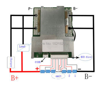 smart bms 20S 80A lithium ion smart bms pcm with android Bluetooth