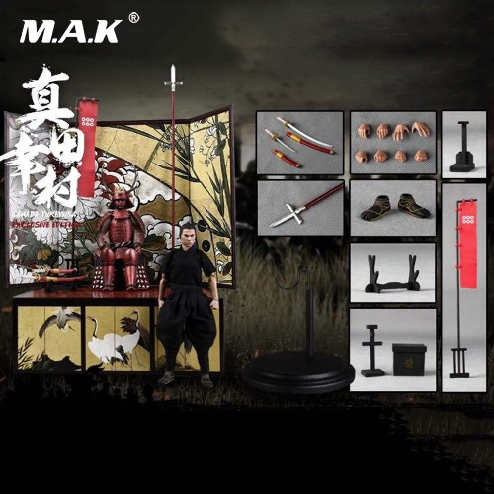 For Collection PE005 1/12 Full Set Pocket Age of Empires Series Sanada Yukimura Exclusive Version Model for Fans GiftsFor Collection PE005 1/12 Full Set Pocket Age of Empires Series Sanada Yukimura Exclusive Version Model for Fans Gifts