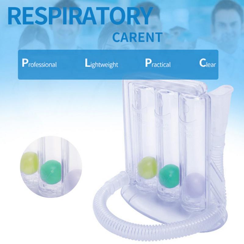جديد وصول التنفس المدرب القدرة الحيوية ممارسة ثلاثة الكرة أداة الرئة وظيفة التنفس التنفسي التمارين
