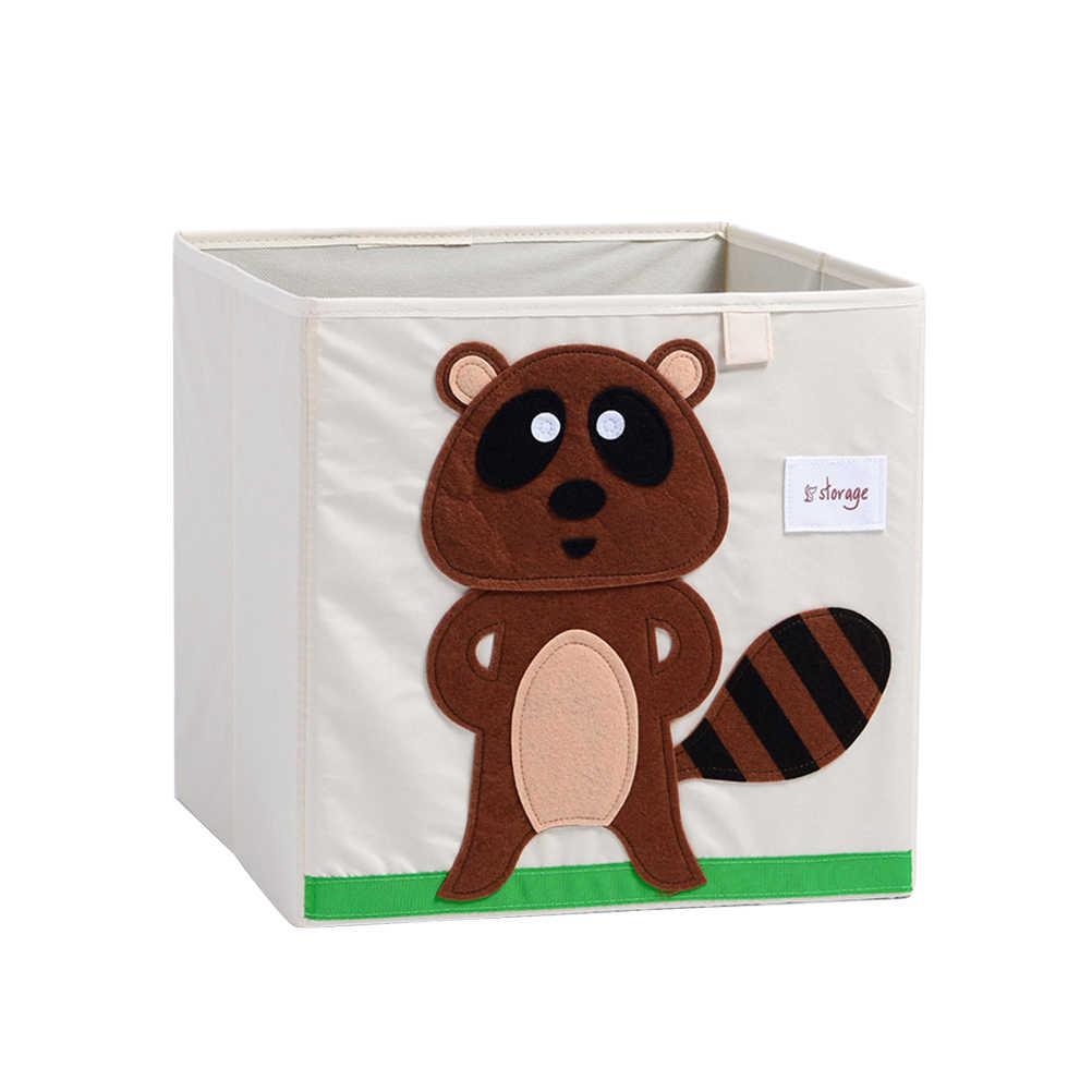 1 Pc Recipiente De Armazenamento De Brinquedos Caixa de Armazenamento de Roupas De Armazenamento Cestas de Lavanderia Dobrável para Quarto