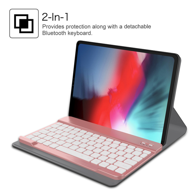 check out f47e2 d2086 US $27.68 35% OFF|For iPad Pro 11 inch 2018 Case CASEWIN Smart Keyboard  Folio Tablets Cover For iPad Pro 11