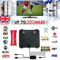 Новый 300 миль цифровая антенна Clear tv Free HD 1080 P усилитель сигнала