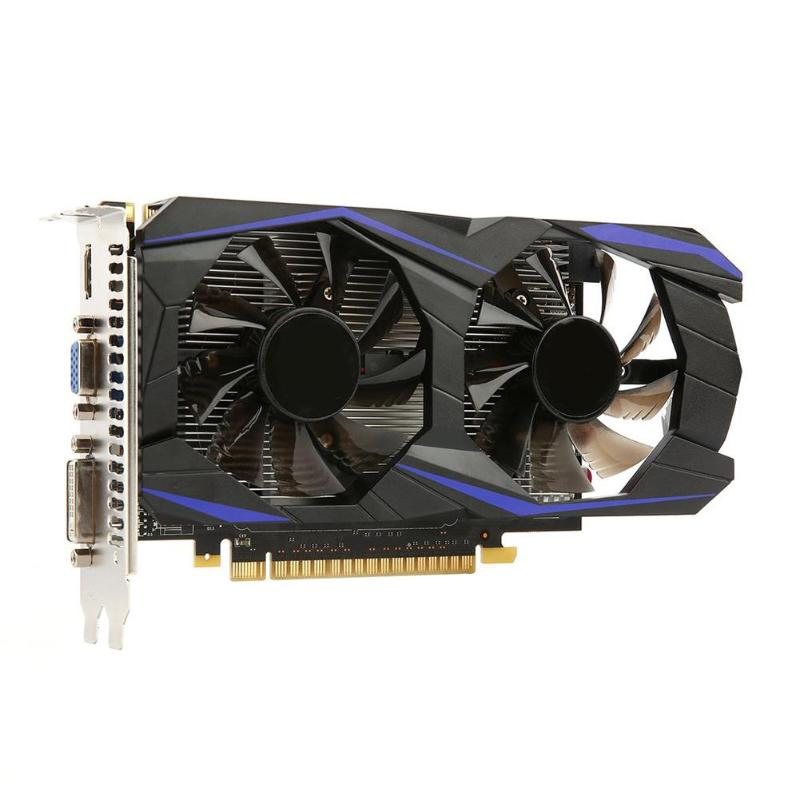 Modified GTX1050Ti 2G DDR5 128bi Gaming Graphics Card PCI E 2 0 Video Card with HDMI