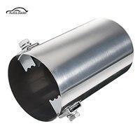 Carro universal use use silenciador tubo de aço inoxidável modificado cauda traseira do carro garganta forro acessórios