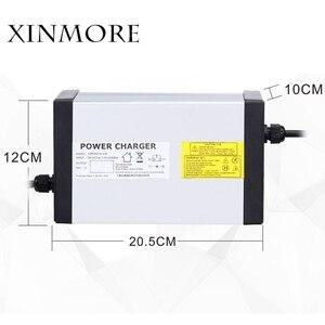 Image 1 - XINMORE 84 فولت 10A 9A 8A شاحن بطارية ليثيوم ل 72 فولت E الدراجة بطارية ليثيوم أيون حزمة AC DC امدادات الطاقة ل أداة كهربائية