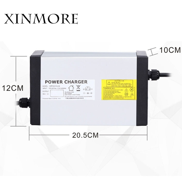 XINMORE 84 فولت 10A 9A 8A شاحن بطارية ليثيوم ل 72 فولت E الدراجة بطارية ليثيوم أيون حزمة AC DC امدادات الطاقة ل أداة كهربائية