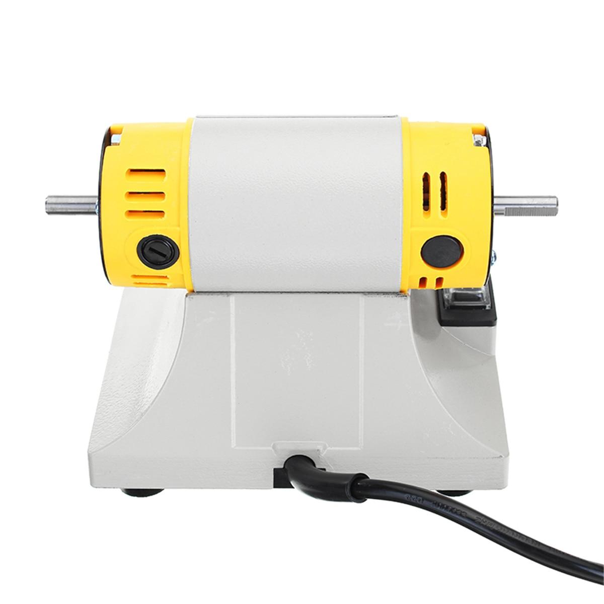 Tool US Jewelry Speed Grinder Mini Motor 350W Machine Lathe Bench For Adjustable Polisher EU Plug Polishing Kit
