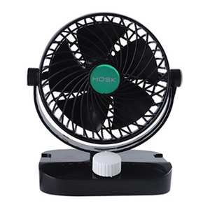 Mini Car Fan 12 V 24 V Truck Double Head Shaking 6 Inch