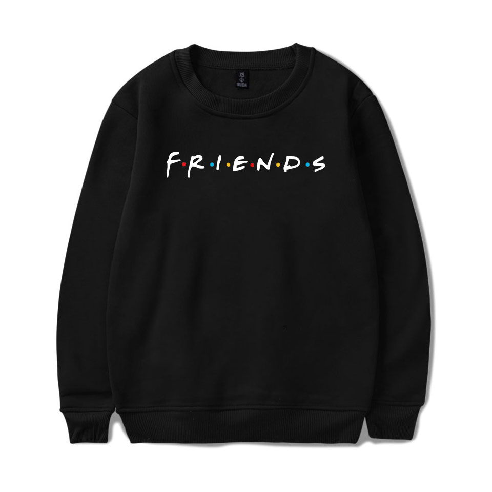 LUCKYFRIDAYF 2018 Friends Ill Be There For You Warm Cool Sweatshirts Women Capless Hoodies Fashion Women/Men Pullover Clothing