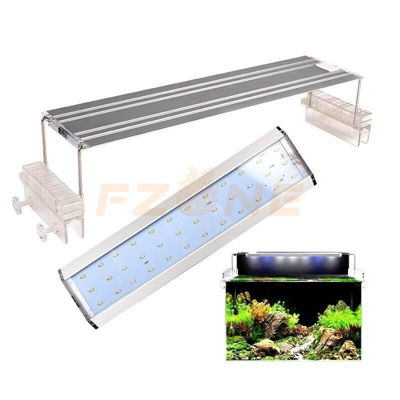 Couvercle à clipser en alliage d'aluminium AquaBlue éclairage de LED pour aquarium pour la culture des plantes