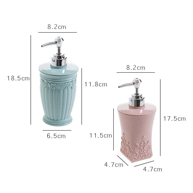 400ml Pressing Liquid Soap Dispensers Bottle Hand Sanitizer Storage Bottle Bathroom Shampoo Shower Gel Container Accessories 400ml Pressing Liquid Soap Dispensers Bottle Hand Sanitizer Storage Bottle Bathroom Shampoo Shower Gel Container Accessories