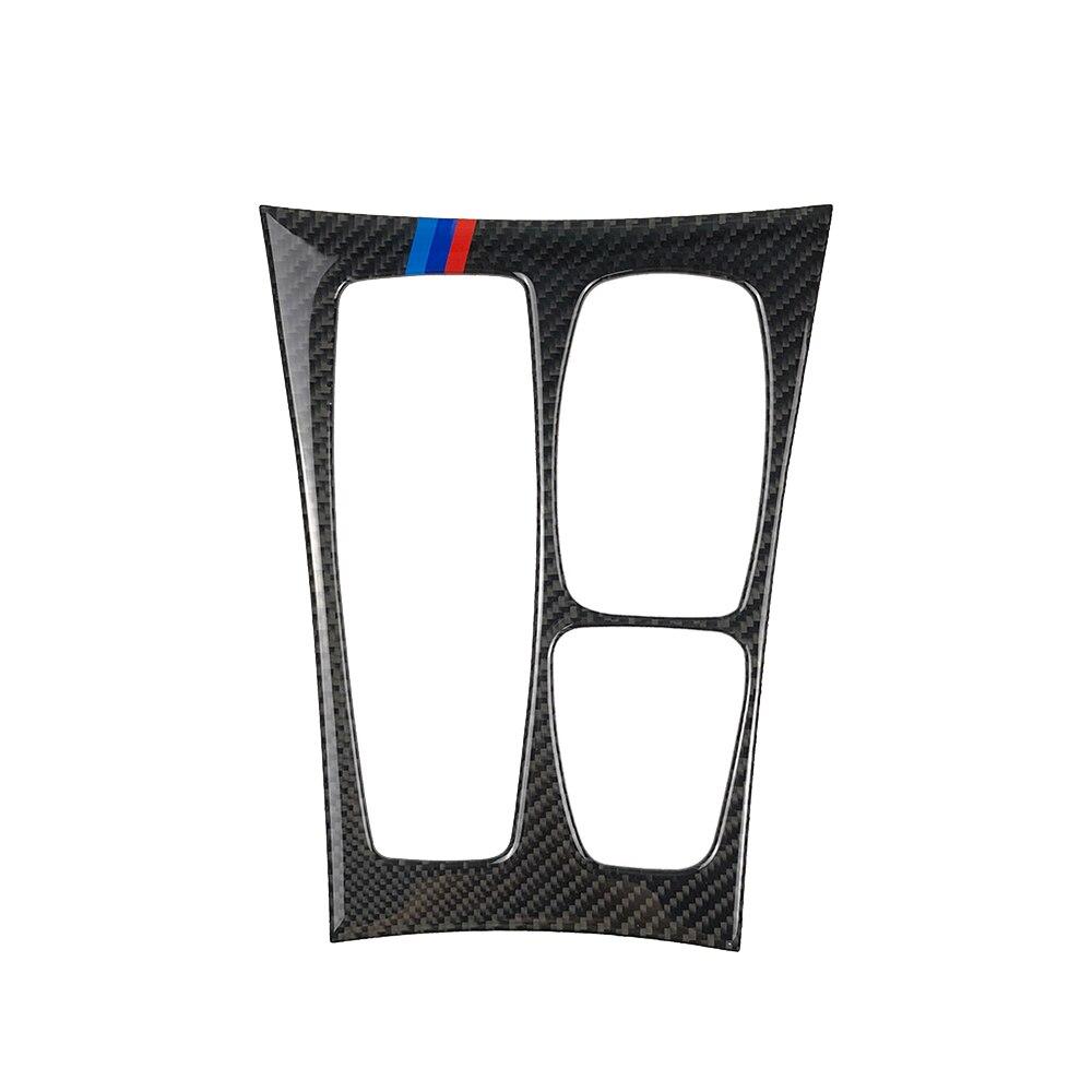 New Carbon Fiber Car Control Gear Shift Panel Decorative