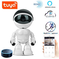 tuy Baby Monitor wifi 2 way audio Robot Camera 1080P HD Network IP Night Vision Motion Detection Camera Pet Baby Monitor Video