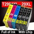 Для Epson XP-452 XP-455 XP-245 чернильный картридж картриджи для домашнего принтера T2991