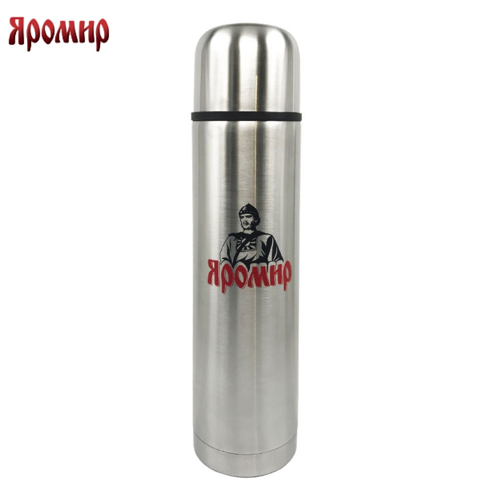 Vacuum Flasks & Thermoses Yaromir YAR-2011M thermomug thermos for tea Cup stainless steel water yaromir yar 2405m hot cup 400ml vacuum flask thermose travel sports climb thermal pot insulated vacuum bottle stainless steel