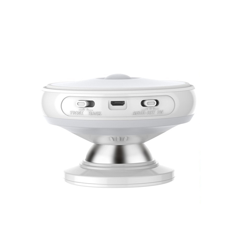 Hard-Working Hot Sale Rechargeable Rotating Led Pir Night Light Auto On/off Wall Lamp With Motion Sensor Light Closet Battery Power For Toi Led Night Lights