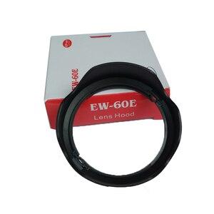 Image 5 - 10 قطعة EW 60E EW60E عدسة هود لكانون EOS متر M2 M3 EF M 11 22 مللي متر f/4 5.6 هو STM 55 مللي متر مع صندوق حزمة