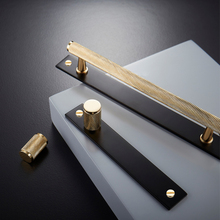 Gold +black /knurled/textured Simple Kitchen Cabinet Knobs And Handles Drawer Pulls Bedroom Brass T Bar Hardware