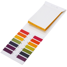 80 тест ing полоски Аквариум Пруд вода Щелочная кислота индикатор уровня бумага Универсальный Лакмус PH тестовая бумага 1-14 диапазон измерения