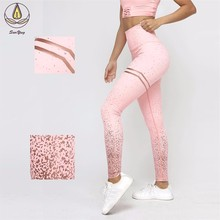 Hot Sports Leggings Fashion Sport Women Fitness Yoga Pants Leggings High Waist Workout Scrunch Butt Lift Gym Wear Hips Trousers цены