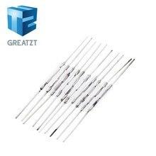 GREATZT 10 шт. N/O геркон магнитный переключатель 2*14 мм нормально открытый магнитный индукционный переключатель для Arduino