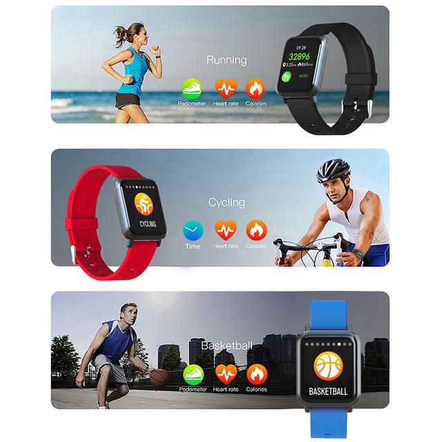 COLMI Smart watch S9 Plus 2.5D Screen Gorilla Glass IP68 Waterproof Clock Fitness Activity Tracker Smartwatch for apple phone
