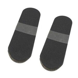 Image 1 - Pano lixa para os pés, lixa para pedicure e cuidados com os pés, recarga de tecido inoxidável, alça de metal para substituição, 10 unidades/pacote