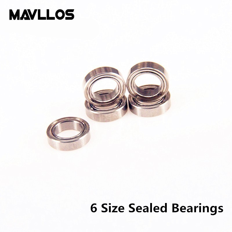 Mavllos Stainless Steel Sealed Bearing Fishing Reel Anti-Corrosion Deep Groove Ball Saltwater Spinning Reel Tackle Accessory