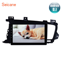 Seicane 9 touchscreen Android 8.1 for 2011 2012 2014 Kia k5 LHD Car Radio GPS Navigation System with SWC Digital TV Bluetooth