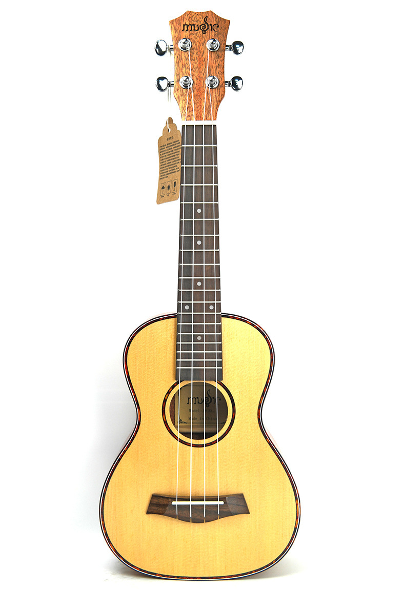 26 inch ukulele four string small guitar spruce peach blossom heart directly in ukulele from. Black Bedroom Furniture Sets. Home Design Ideas