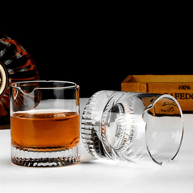 PRO Crystal Cigar Holder Glass Puritano Round Wine Glasses Whisky Usquebaugh XO Cup Brandy Whiskey Rock Vidro Verre Wholesale 3
