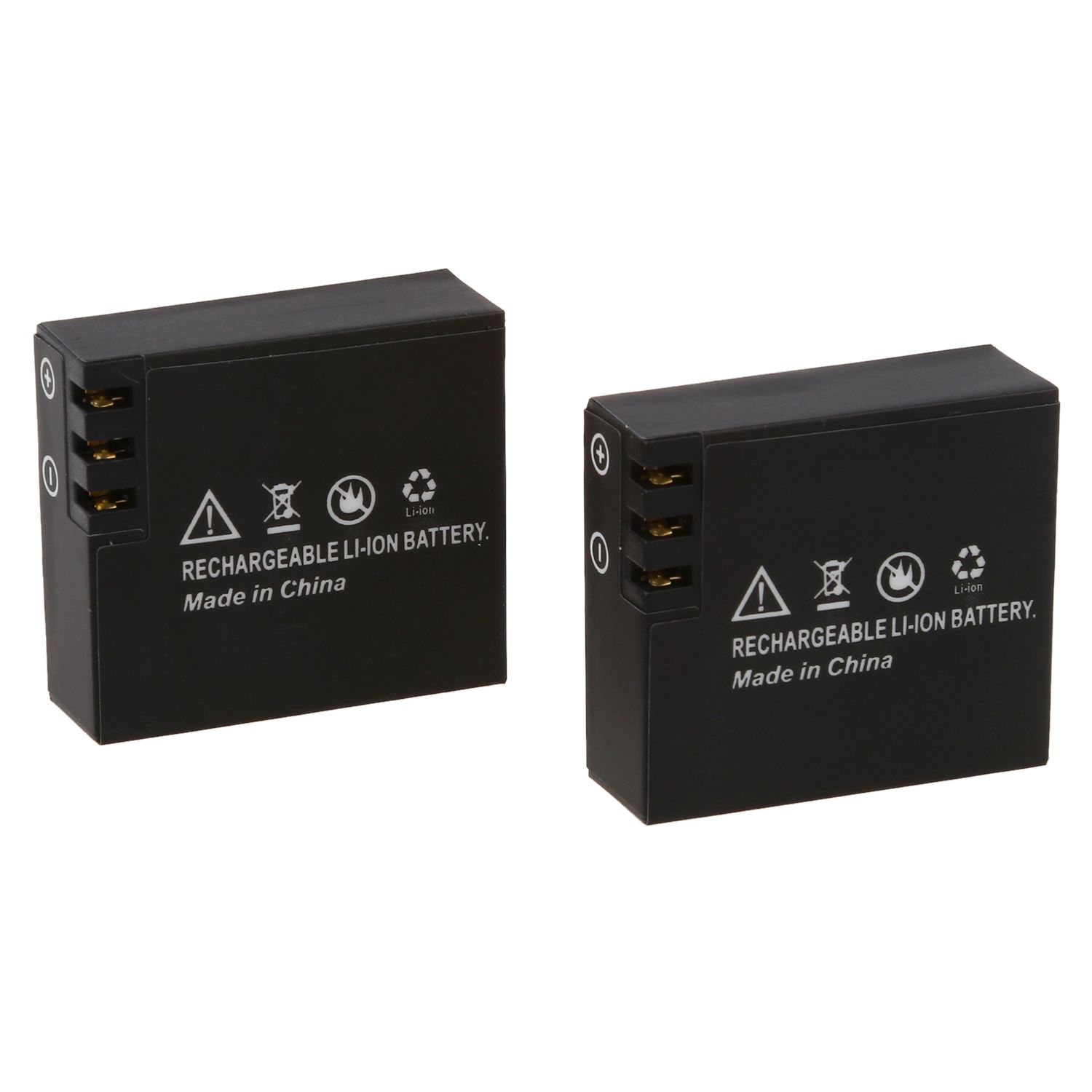 2x900mAh Updated Li-ion Battery For SJCAM SJ4000 SJ6000 SJ5000 Wifi SJ5000+