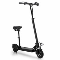 Patinete Electrico Adulto Scooter Foldable Urban Adults To Work Double Round Explosion proof Tire Wheel Height Adjustable