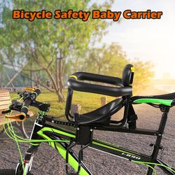 Bezpieczeństwa rower dziecięcy siedzenia rower przedni fotelik dla dzieci siodło z pedały wsparcie oparcie przednie krzesło dla dzieci w wieku 0 ) do 7 lat lat  jeśli dla dzieci w Siodełka rowerowe od Sport i rozrywka na